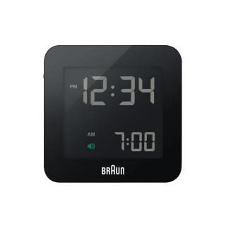 BRAUN DIGITAL CLOCK LARGE BLACK