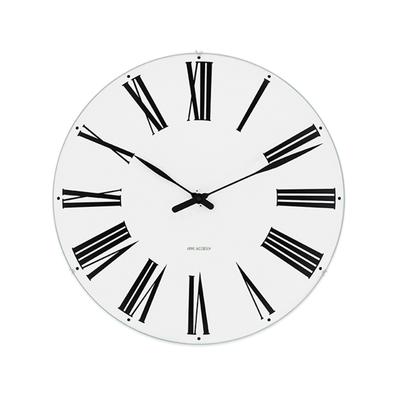 ARNE JACOBSEN WALL CLOCK ROMAN 290MM