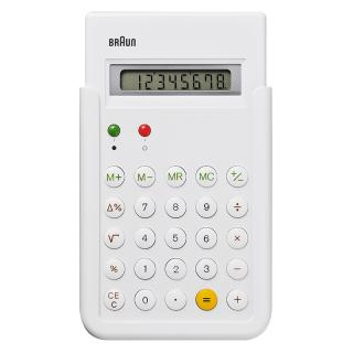 BRAUN CALCULATOR WHITE  BNE001WH