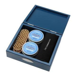 THE CONRAN SHOP ORIGINAL SHOE CARE WOODEN BOX SET