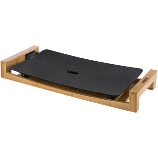 PRINCESS TABLE GRILL STONE BLACK