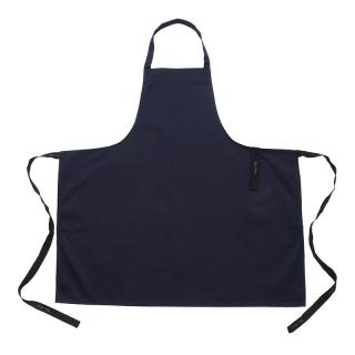 OLIVER HARVEY NAVY POLY COTTON BIB APRON