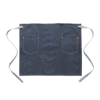 OLIVER HARVEY INDIGO BLUE DENIM WAIST APRON