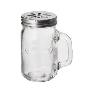 KILNER HANDLE JAR 0.4L WITH FLOWER LID