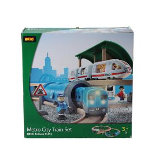 BRIO METRO CITY TRAIN SET