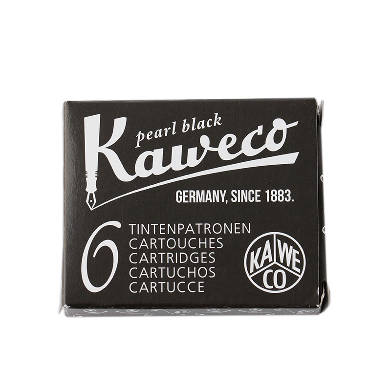 KAWECO INK CARTRIDGES 6PACK PEARL BLACK