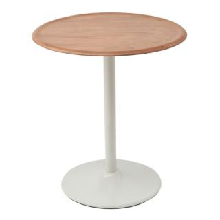 TV1020 PIPE TABLE LIGHT BEECH/WHITE