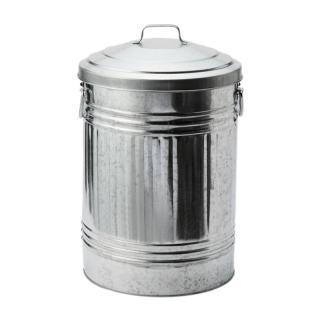 GALVANIZED DUST BIN MEDIUM