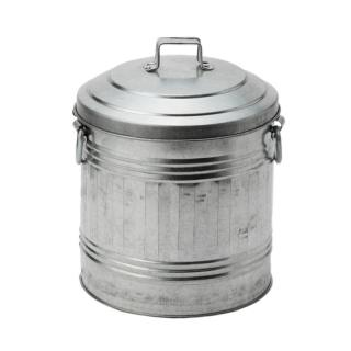 GALVANIZED DUST BIN SMALL