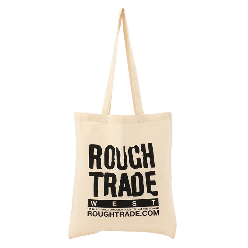 ROUGH TRADE TOTE BAG WHITE