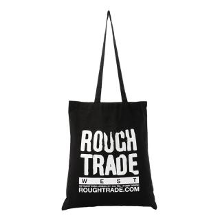 ROUGH TRADE TOTE BAG BLACK