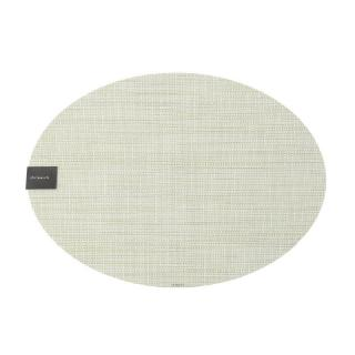 MINI BASKET WEAVE OVAL PLACEMAT MATCHA
