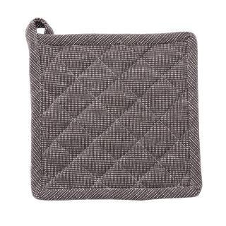 DARK GREY COTTON POT HOLDER