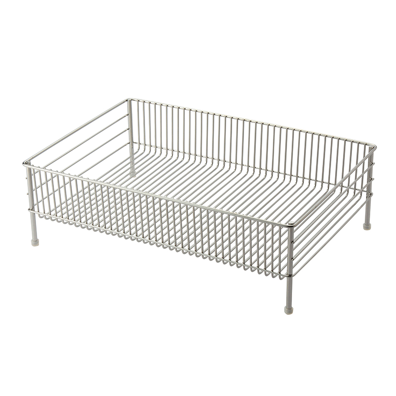 LA BASE STAINLESS DRAINER BASKET LARGE