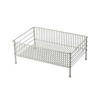 LA BASE STAINLESS DRAINER BASKET SMALL