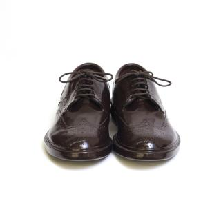 RAINSHOES WINGTIP BROWN S
