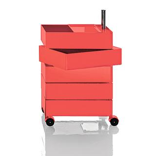 360 CONTAINER 5DRAWER RED SB