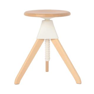 TOM&JERRY STOOL LOW WHITE SB