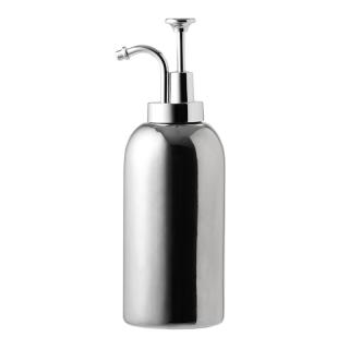 KIKKERLAND CERAMIC SOAP DISPENSERS SILVER