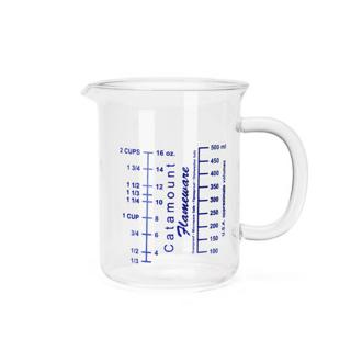 GLASS HANDLE MEASURING CUPS 2CUP