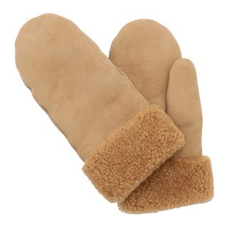 TOASTIES MITTENS LARGE CAMEL