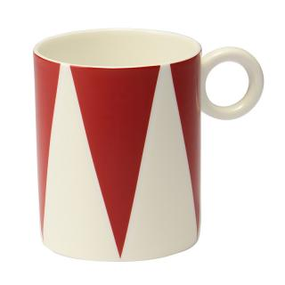 ALESSI BONE CHINA MUG TRIANGLE