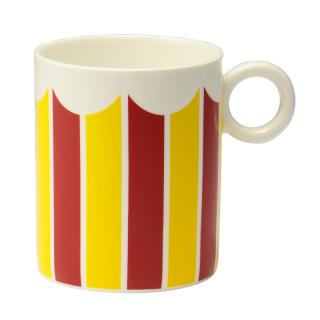ALESSI BONE CHINA MUG STRIPE