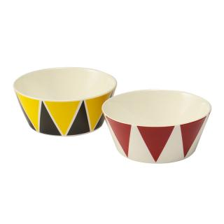 ALESSI BOWL SMALL TRIANGLE 2P