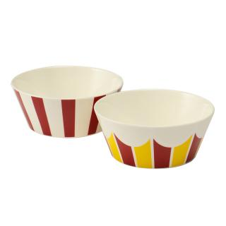 ALESSI BOWL SMALL STRIPE 2P