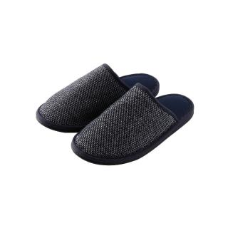 ORIGINAL NEEDLEWORK SLIPPERS M NAVY