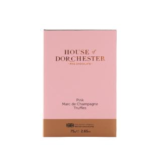 HOUSE OF DORCHESTER PINK CHAMPAGNE TRUFFLES
