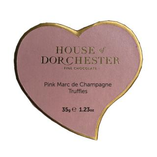 HOUSE OF DORCHESTER PINK CHAMPAGNE TRUFFLES 3P