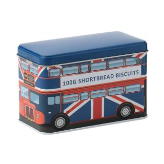 LONDON BUS BLACK ENGLISH BISCUITS