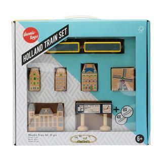 IKONIC TOYS HOLLAND TRAIN SET
