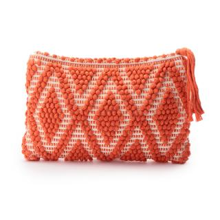 ANTONELLO CLUTCH ORANGE