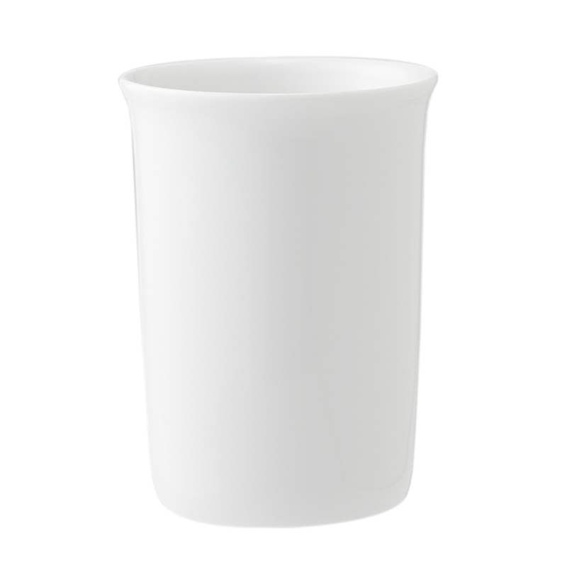 DECOR WALTHER/WHITE PORCELAIN TUMBLER