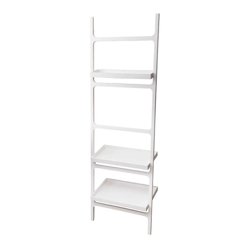 DECOR WALTHER/STONE TOWEL LADDER WITH 3 SHELVES