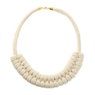 EB SAILORS PLAIT NECKLACE NATURAL