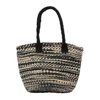 MACHACOS CIRCLE BAG SMALL BLACK MIX