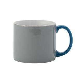 MY MUG M GREY HANDLE BLUE