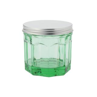 JAR WITH LID SMALL TRANSPARENT G.