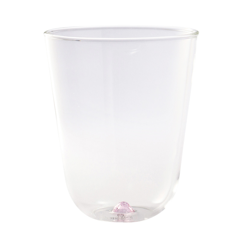 BAMBUS WATER GLASS PINK