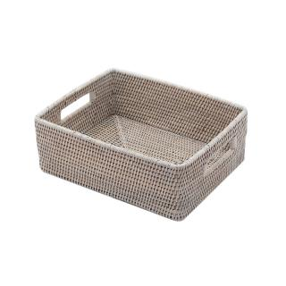 BAOLGI/ RECT. STORAGE BOX LOW WHITE