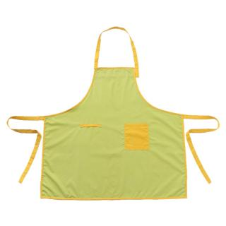 JIVE COLOR BLOCK APRON L.GREEN