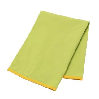 JIVE COLOR BLOCK TEA TOWEL  LIME GREEN