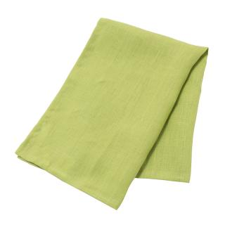 TANGO LINEN TEA TOWEL LIME GREEN