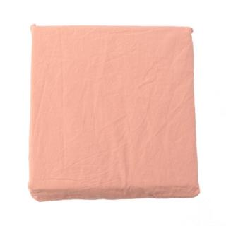 COTTON STONEWASH FIT SHEETS S NUDE