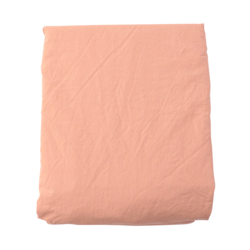 COTTON STONEWASH FIT SHEETS D NUDE