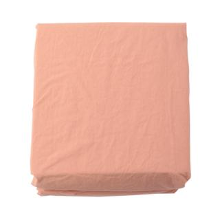 COTTON STONEWASH FIT SHEETS Q NUDE