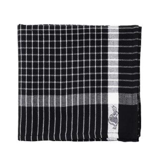 IRMA KITCHEN TOWEL BLACK